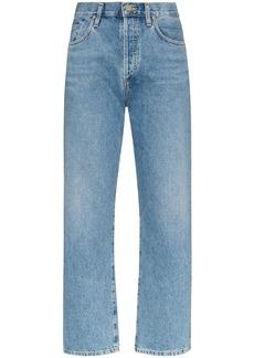 Goldsign high-rise straight leg jeans