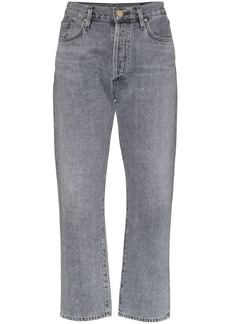 Goldsign mid-rise straight leg jeans