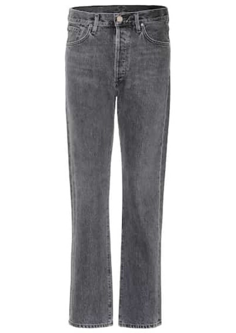 Goldsign The Benefit high-rise straight jeans