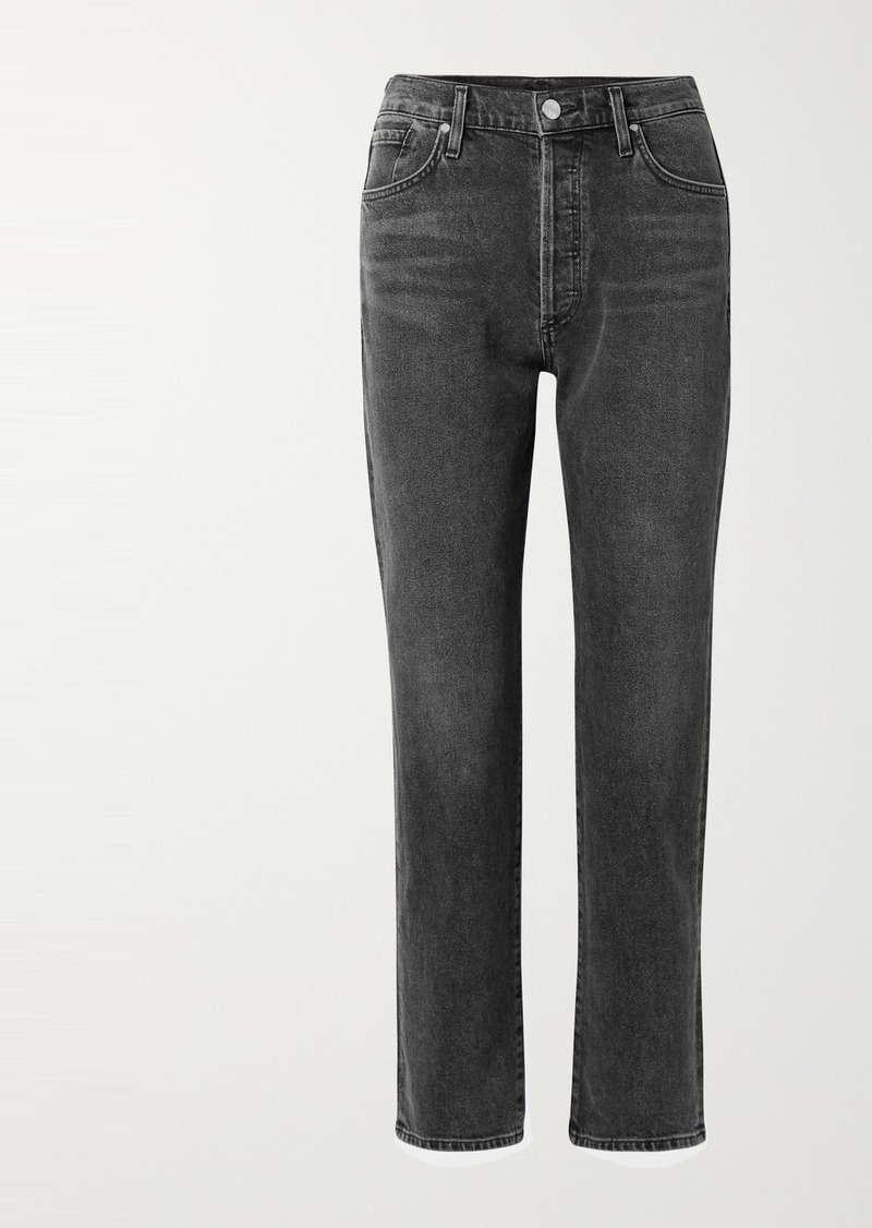 Goldsign Net Sustain The Benefit High-rise Straight-leg Jeans