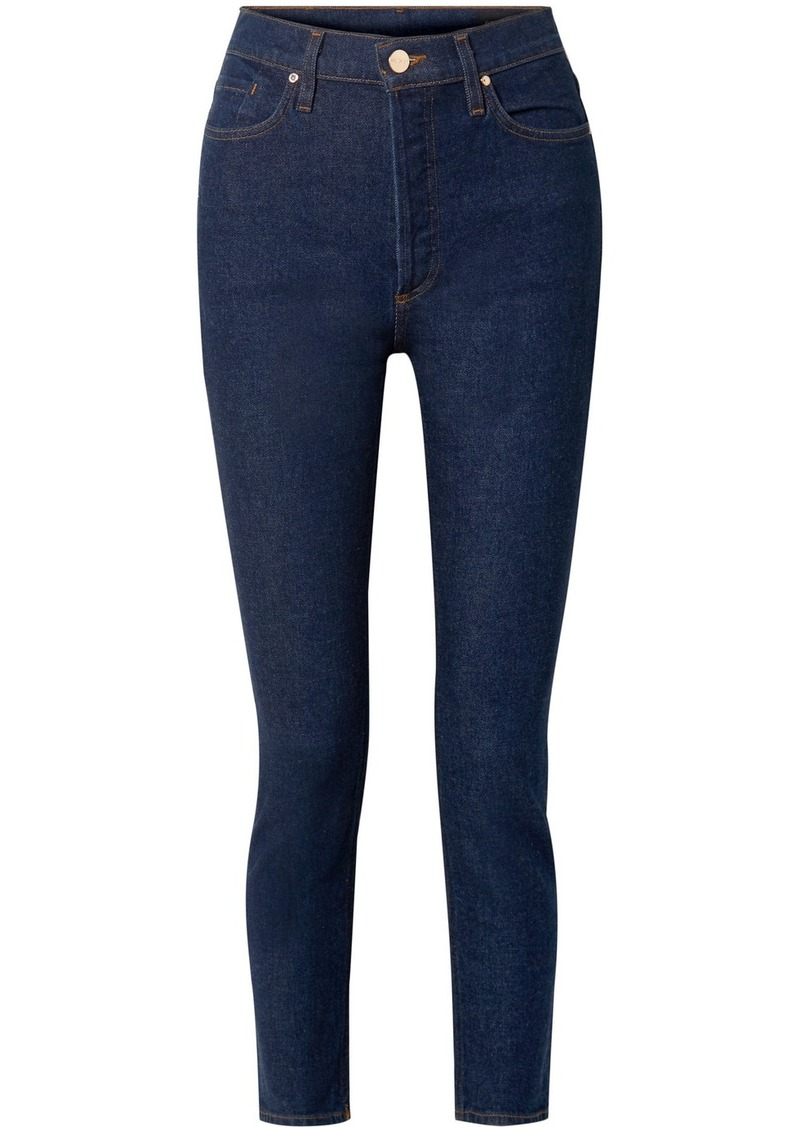 Goldsign The High Rise Slim-leg Jeans
