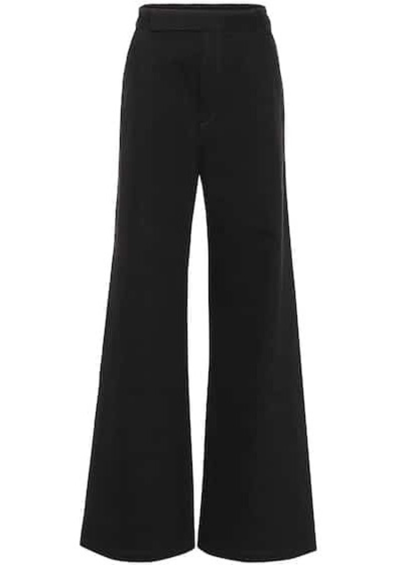Goldsign The Ultra Wide Leg cotton pants