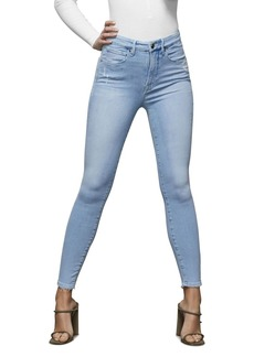 Good American Good Waist Crop Jeans in Blue397