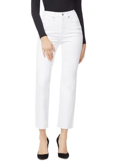 Good American Good Curve Straight Jeans in White008