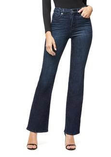Good American Good Flare Jeans (Blue 025) (Regular & Plus Size)