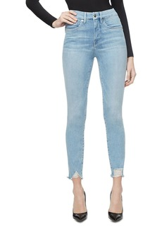 Good American Good Legs Ankle Skinny Jeans Jeans in Blue283