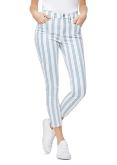 Good American Good Legs Crop Skinny Jeans in Stripe003