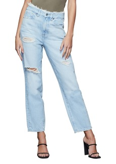 Good American Good Vintage Ripped High Waist Jeans (Regular & Plus Size)