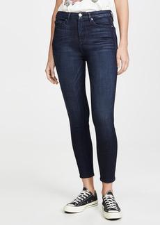 Good American Good Waist Crop Skinny Jeans