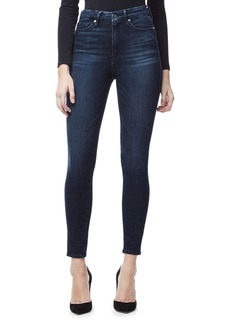 Good American Good Waist High Waist Crop Skinny Jeans (Blue 025) (Extended Sizes)
