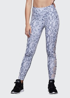 Good American Snake Print Foiled Active Leggings - Inclusive Sizing