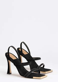 Good American The Standout Square Toe Sandal (Women) (Nordstrom Exclusive)