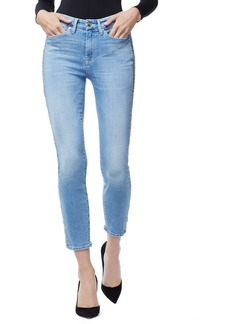 Good American Good Legs Chain Crop Skinny Jeans (Regular & Plus Size)