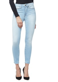 Good American Good Legs High Waist Crop Skinny Jeans (Regular & Plus Size)