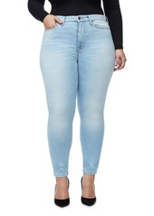 Good American Good Legs High Waist Crop Skinny Jeans (Regular & Plus Size)