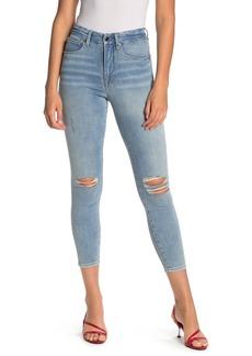 Good American Good Waist High Waist Ankle Skinny Jeans (Regular & Plus Size)