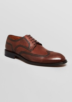 Gordon Rush Leather Wingtip Dress Shoes - Powell