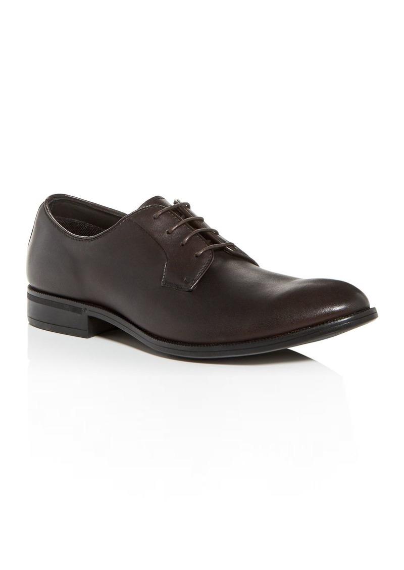 Gordon Rush Men's Bailey Leather Plain-Toe Oxfords