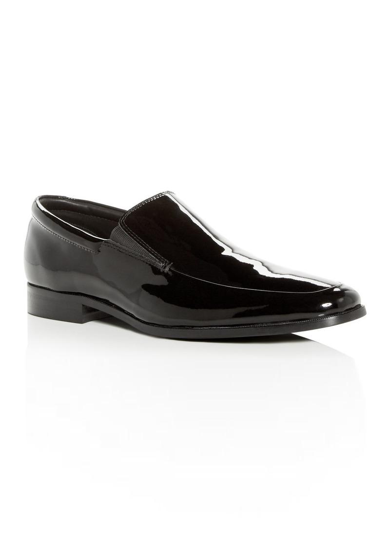 Gordon Rush Men's Elliot Leather Apron Toe Loafers