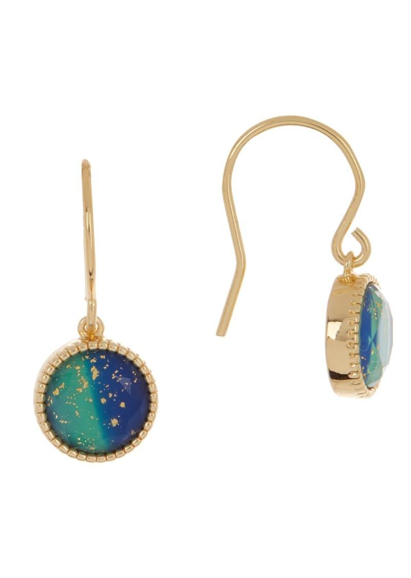 Gorjana Azul Flake Camille Drop Earrings