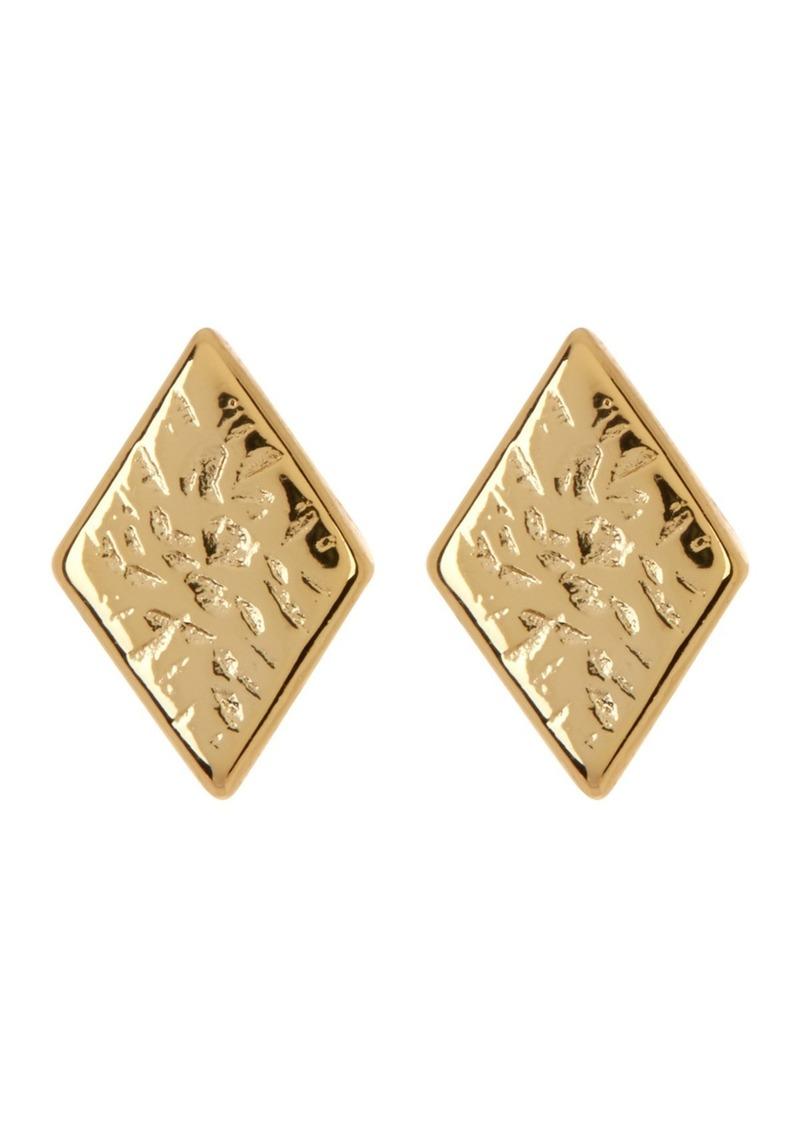 Gorjana Cortez Diamond Shaped Stud Earrings