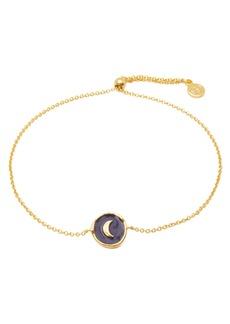 Gorjana Enamel Moon Coin Bracelet
