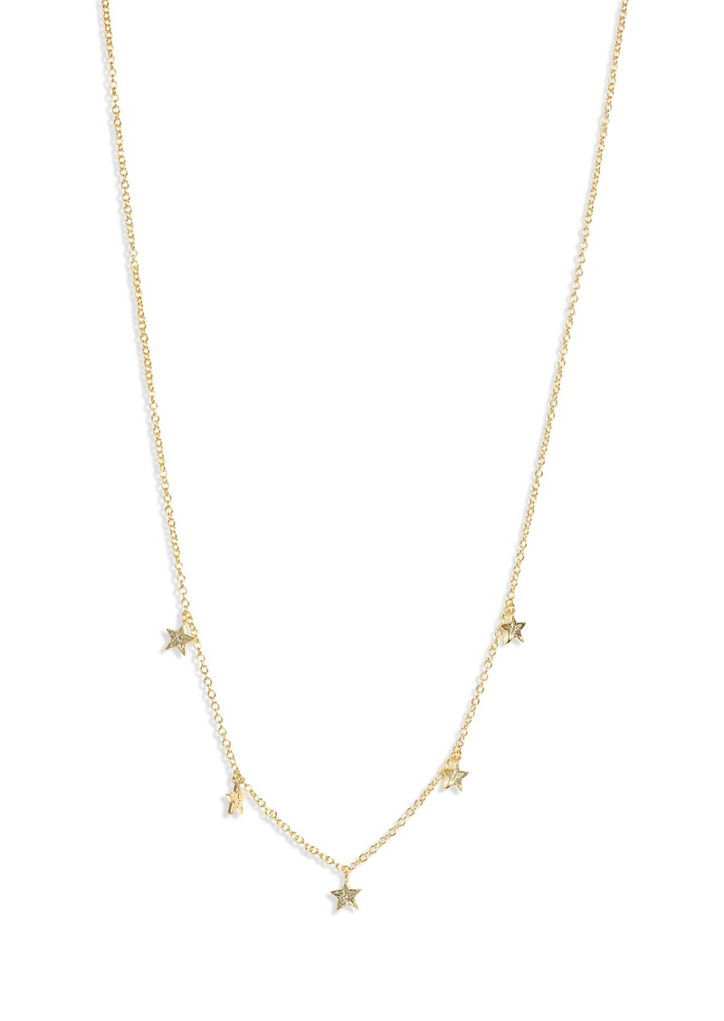 Gorjana gorgana Super Star Shaker Necklace