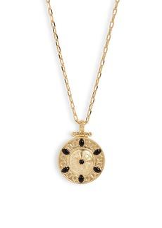gorjana Alessandra Coin Pendant Necklace