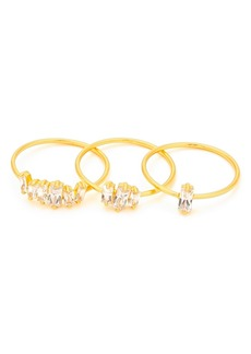 gorjana Amara Set of Three Stacking Rings