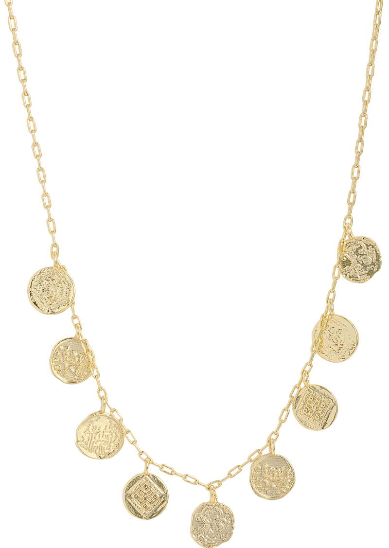 gorjana Ana Coin Necklace