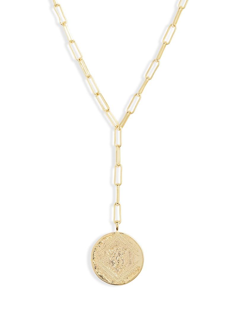 gorjana Ana Coin Y-Necklace