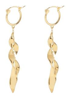 gorjana Autumn Drop Huggie Hoop Earrings