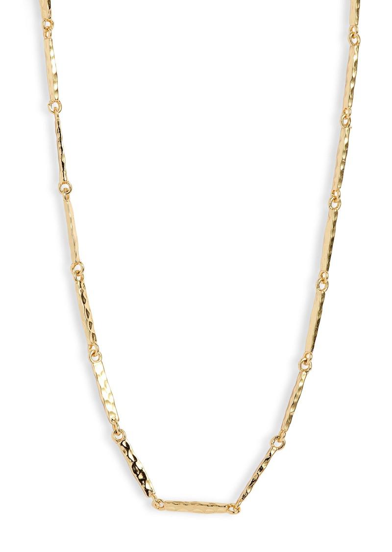 gorjana Balboa Bar Link Necklace