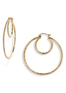 gorjana Bali Double Hoop Earrings