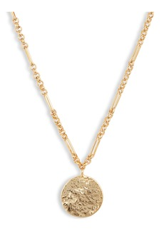 gorjana Banks Coin Pendant Necklace