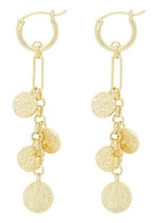 gorjana Banks Mixed Coin Drop Earrings