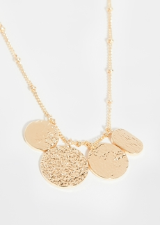 Gorjana Banks Mixed Coin Necklace
