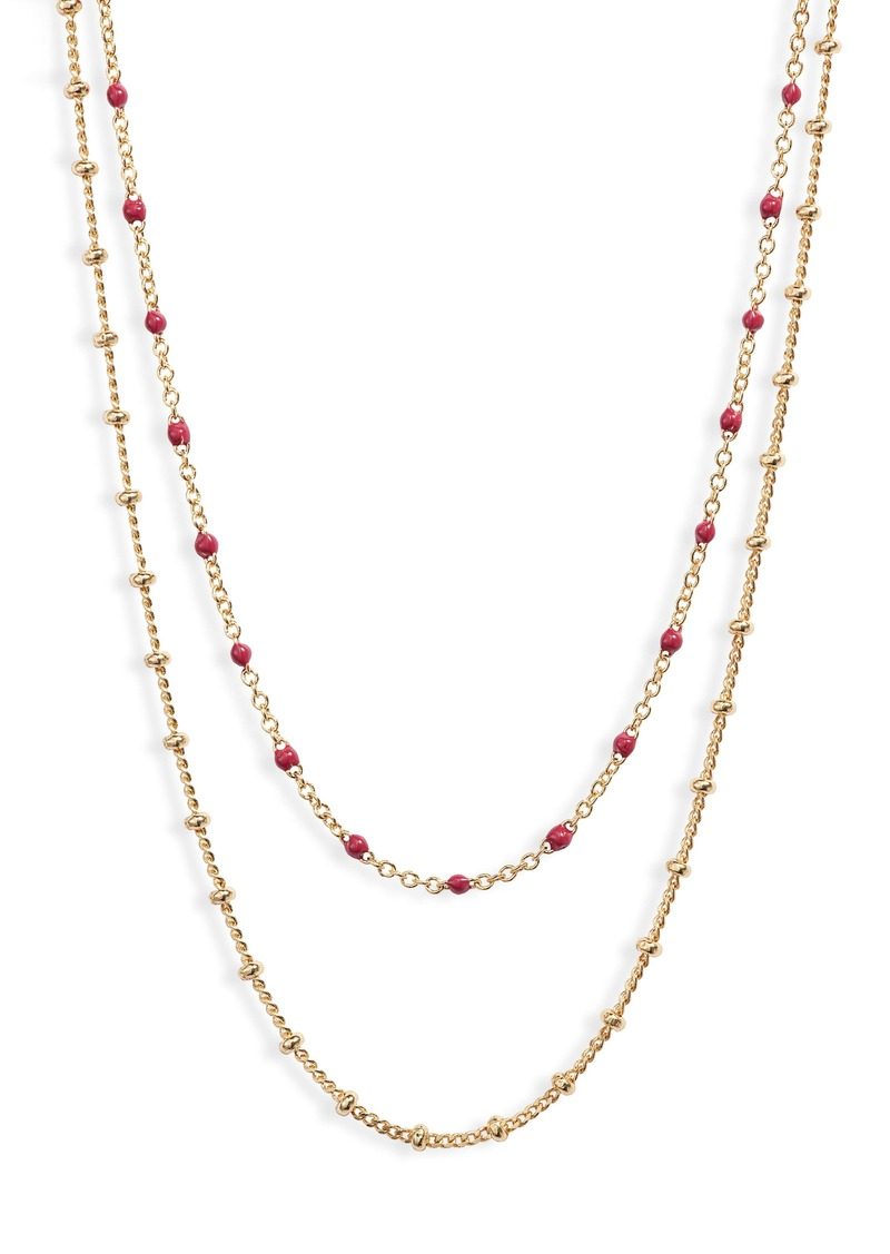 gorjana Capri Layered Necklace