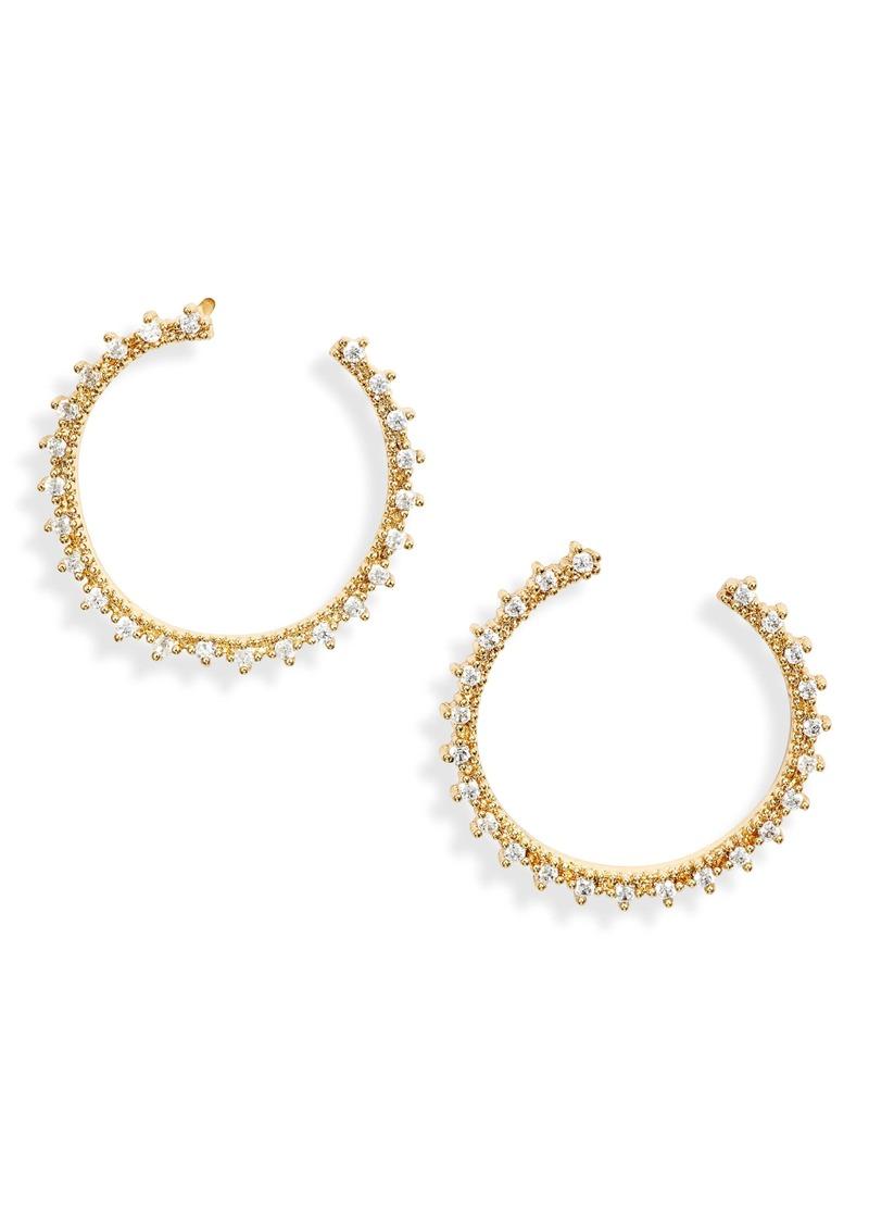 gorjana Celine Wrap Hoop Earrings
