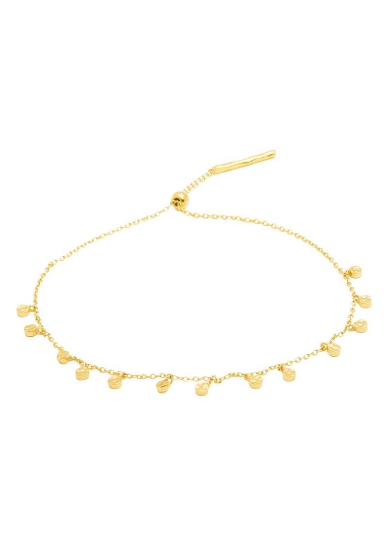 gorjana Chloe Mini Disc Charm Bracelet