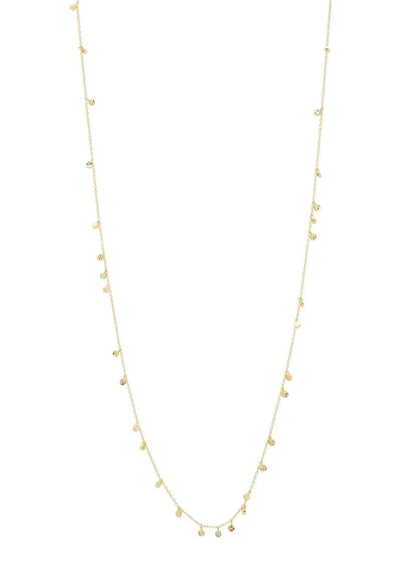 gorjana Chloe Mini Disc Long Necklace