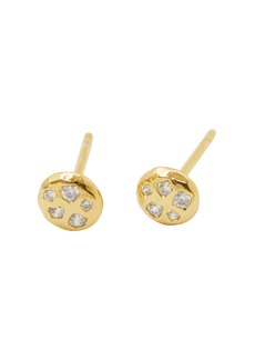 gorjana Collette Circle Stud Earrings
