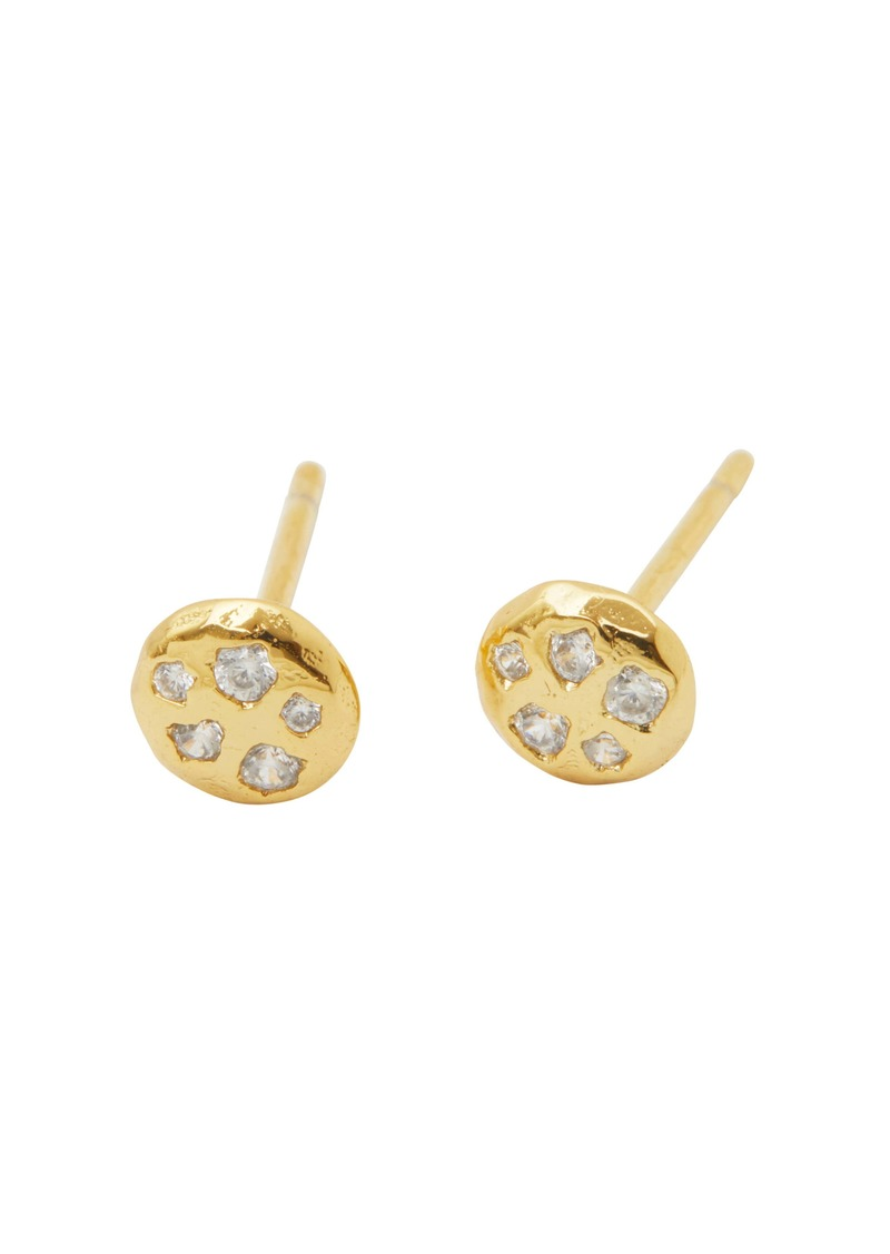 gorjana Collette Circle Stud Earrings