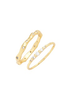 gorjana Collette Set of 2 Rings