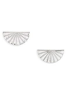 gorjana Costa Half Fan Earrings