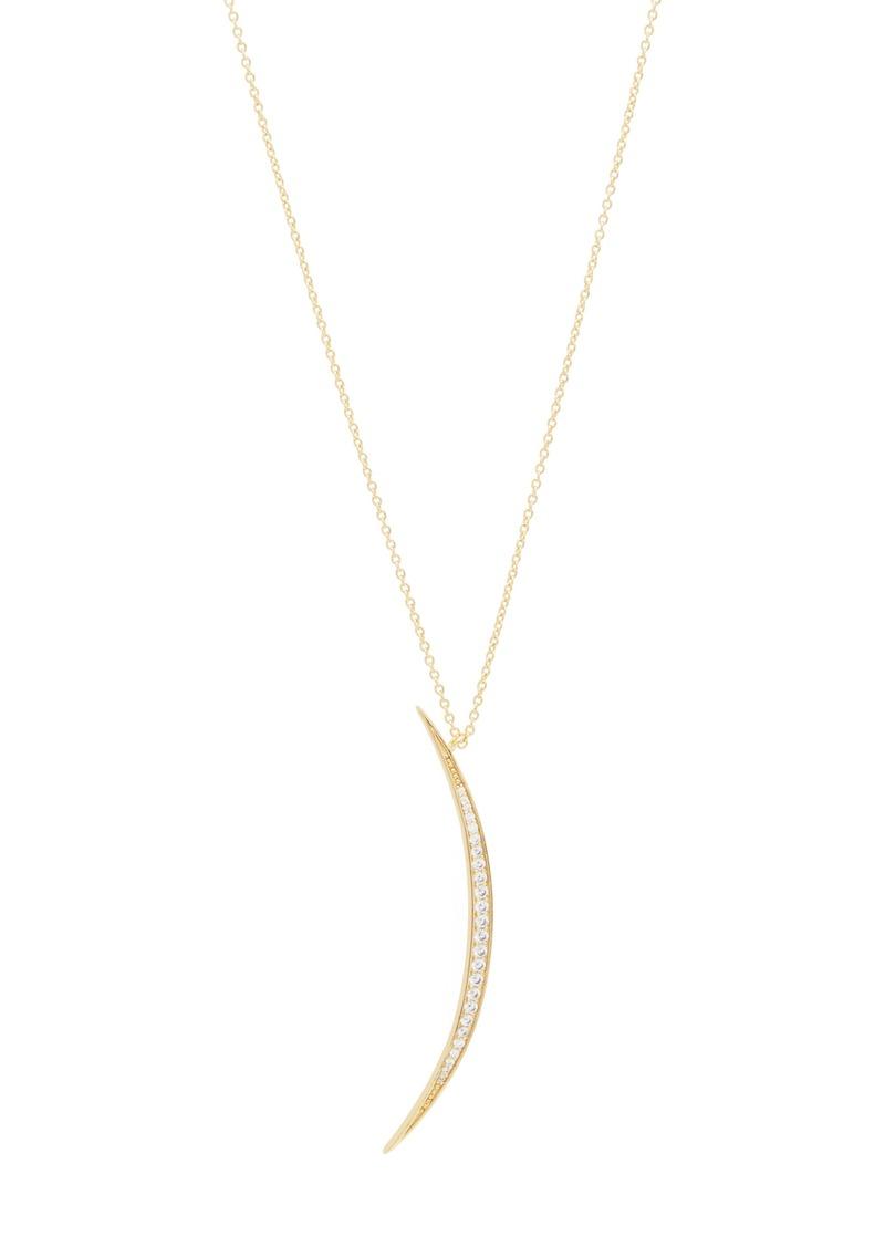 gorjana Crescent Shimmer Pendant Necklace