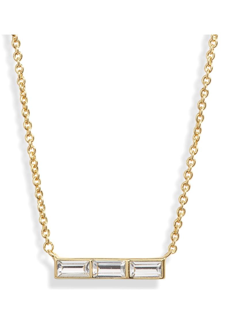 gorjana Desi Bar Pendant Necklace