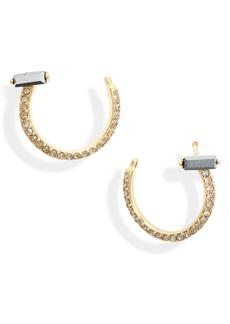 gorjana Desi Wrap Stud Earrings