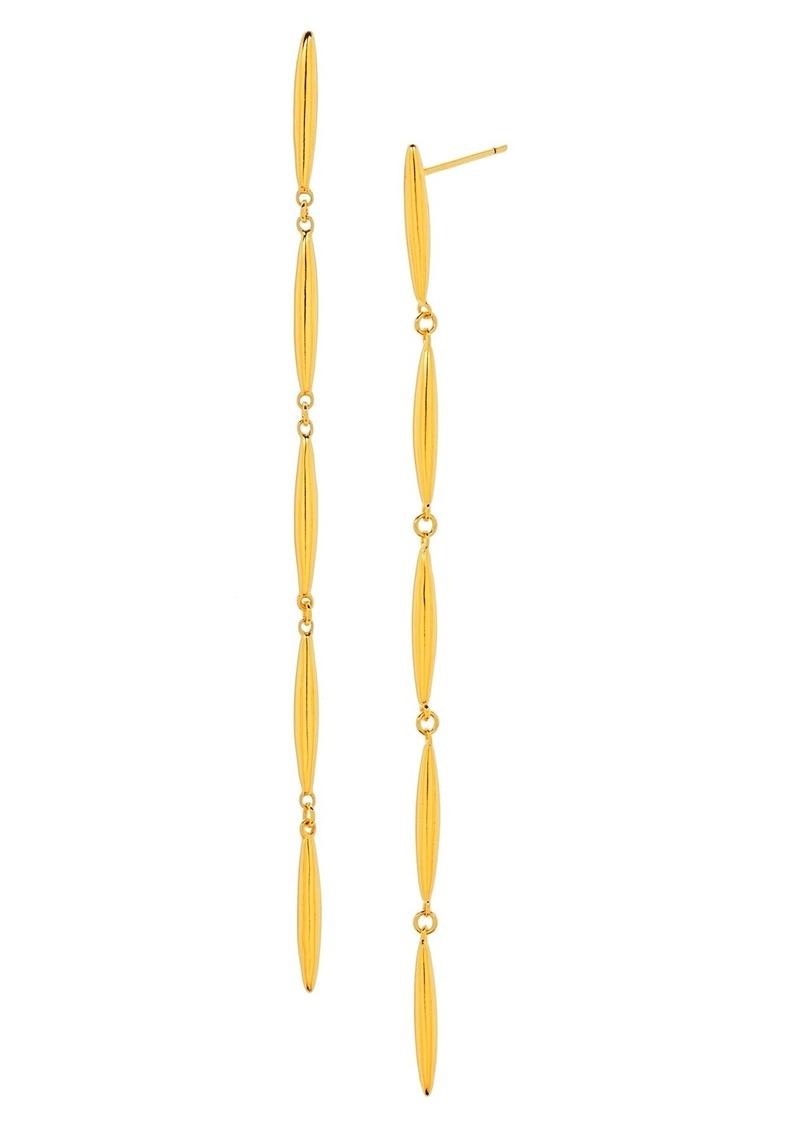 gorjana 'Emma' Linear Drop Earrings