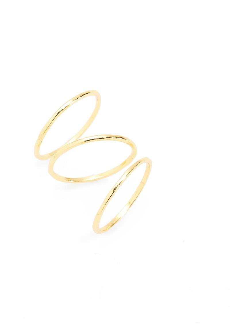 gorjana Set of 3 Rings (Set of 3)